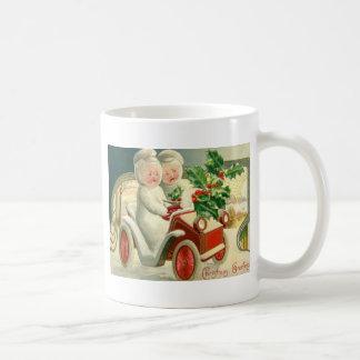 Christmas Greetings Basic White Mug