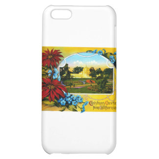 Christmas Greetings from Golden Gate Park Case For iPhone 5C