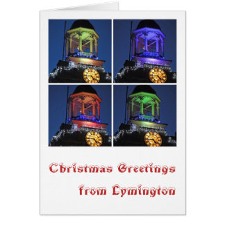 Christmas greetings from Lymington Card