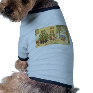 CHRISTMAS GREETINGS INTERNATIONAL MORE DOG T SHIRT