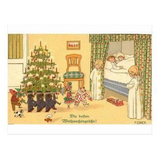 CHRISTMAS GREETINGS INTERNATIONAL MORE POSTCARD
