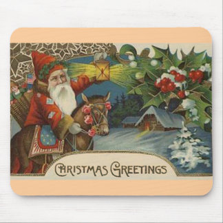 Christmas Greetings Mouse Mat