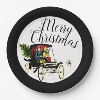 Christmas Greetings Paper Plates
