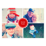 Christmas Greetings Personalized Announcements