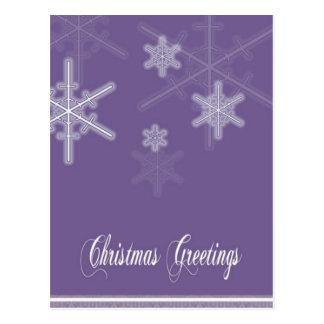 Christmas-Greetings Postcard