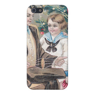 Christmas Greetings Vintage Card Case For iPhone 5