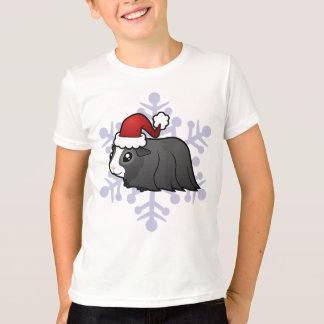 Christmas Guinea Pig (long hair) T-Shirt