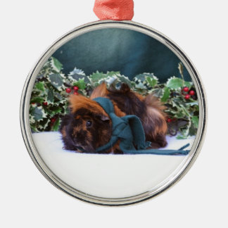 Christmas Guinea Pig Ornament