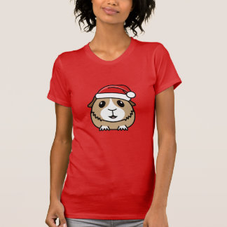 Christmas Guinea Pig Women's T-Shirt
