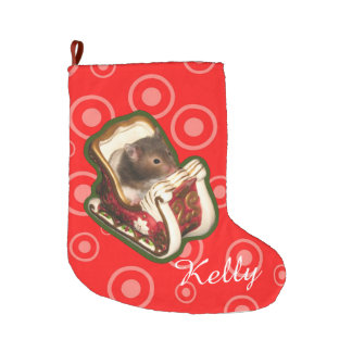 Christmas hamster large christmas stocking
