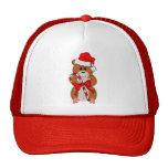 Christmas Hamster Mesh Hats
