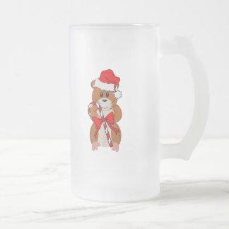 Christmas Hamster Coffee Mugs