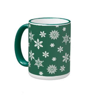 Christmas Hanukkah and holidays Ringer Mug