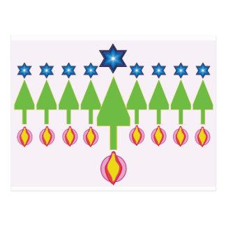Christmas Hanukkah Chrismukkah Card Post Cards