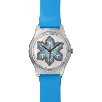 Christmas Hanukkah Cookie Winter Snowflake Watch
