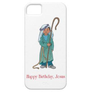 CHRISTMAS Happy Birthday Jesus Shepherd Boy iPhone Case For The iPhone 5