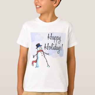 CHRISTMAS HAPPY HOLIDAY APPARREL TEES