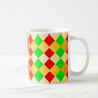Christmas Harlequin Coffee Mug