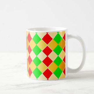 Christmas Harlequin Basic White Mug