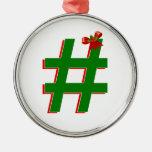 Christmas #HASHTAG - Hash Tag Symbol