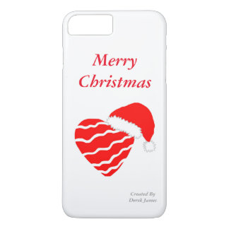 Christmas Heart iPhone 7 Plus Case