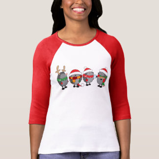 Christmas hedgehogs T-Shirt