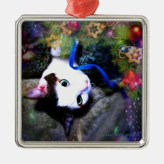 Christmas Hijinks Premium Square Ornament