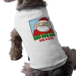 Christmas Ho Ho Ho Pet T-shirt