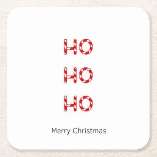 Christmas Ho Ho Ho Drinks Coasters