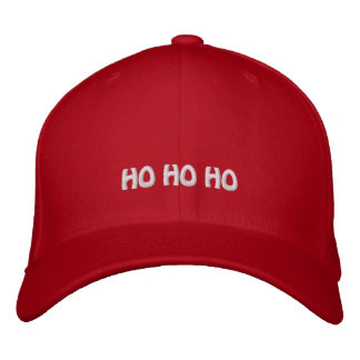 Christmas ho ho ho funny humoros xmas gifts embroidered hat