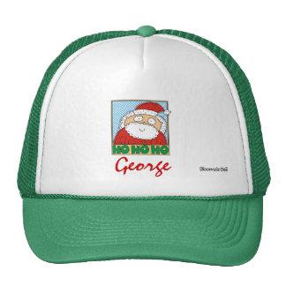 Christmas Ho Ho Ho. Mesh Hats
