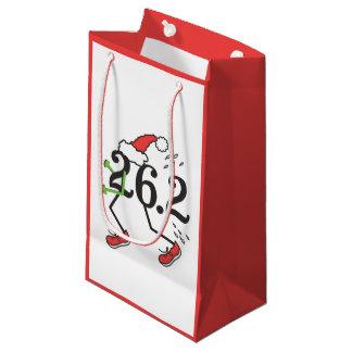 Christmas Holiday 26.2 Funny Marathon Small Gift Bag
