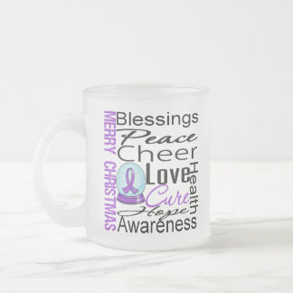Christmas Holiday Alzheimer's Disease Collage Coffee Mugs