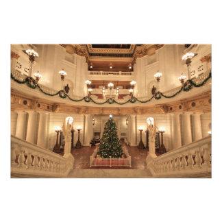 Christmas Holiday at Pennsylvania State Capitol Photograph