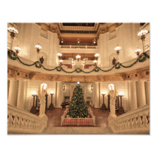Christmas Holiday at Pennsylvania State Capitol Art Photo