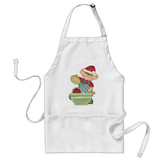 Christmas Holiday Baking Elf apron