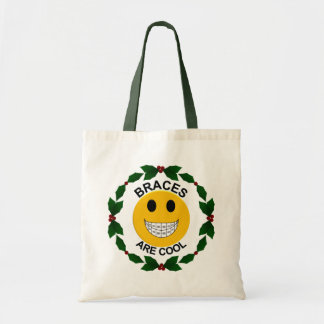 Christmas Holiday Braces are Cool - Tote Bag
