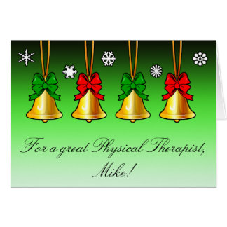 Christmas Holiday Card: Physical Therapist PT