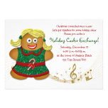 Christmas Holiday Cookie Exchange Party Invitation