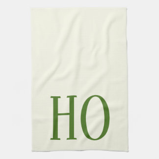 CHRISTMAS HOLIDAY GRAPHIC HO KITCHEN DISH TOWEL