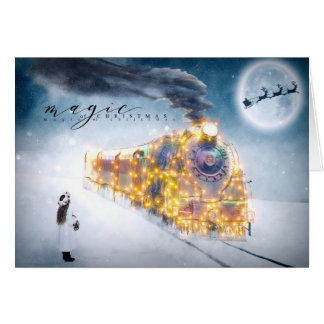 Christmas Holiday - Magic of Christmas - Train Card