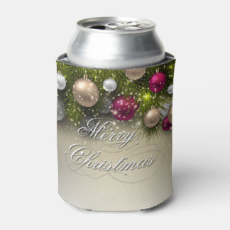 Christmas Holiday Ornaments - Multi Can Cooler