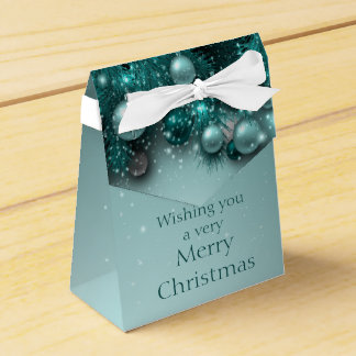 Christmas Holiday Ornaments - Teals Favour Box