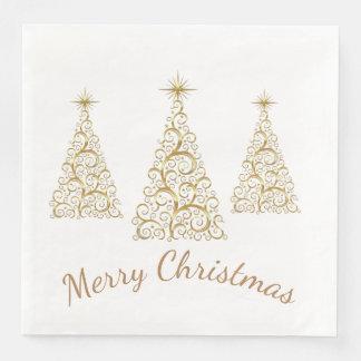 Christmas Holiday Paper Napkins