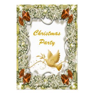 Christmas holiday party office peace announcements