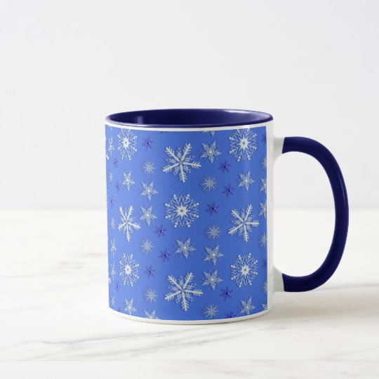 christmas holiday pattern. mug