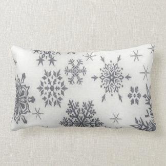 Christmas Holiday Pattern Snowflake Pillow
