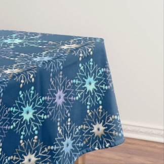 christmas holiday pattern tablecloth