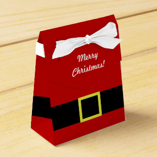 Christmas Holiday | Santa's Belt | Personalized Favour Box