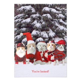 Christmas Holiday Season Invitation